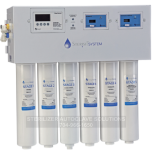 This is a Sterisil System G4 Dental Water Purification System