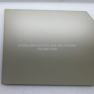 This is the outside of a Midmark M11® NS LH Side Panel Textured Pearl Gray 050-5227-00-253