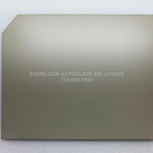 This is the outside of a Midmark M11® RH Side Panel Textured Pearl Gray 050-5228-00-253