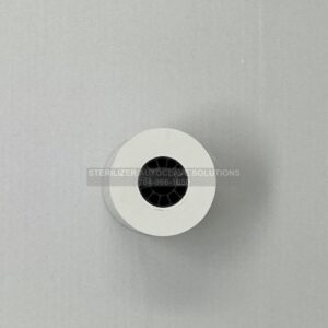 This is the end view of a Midmark M11® or M9® Thermal Printer Paper Roll OEM 060-0016-00