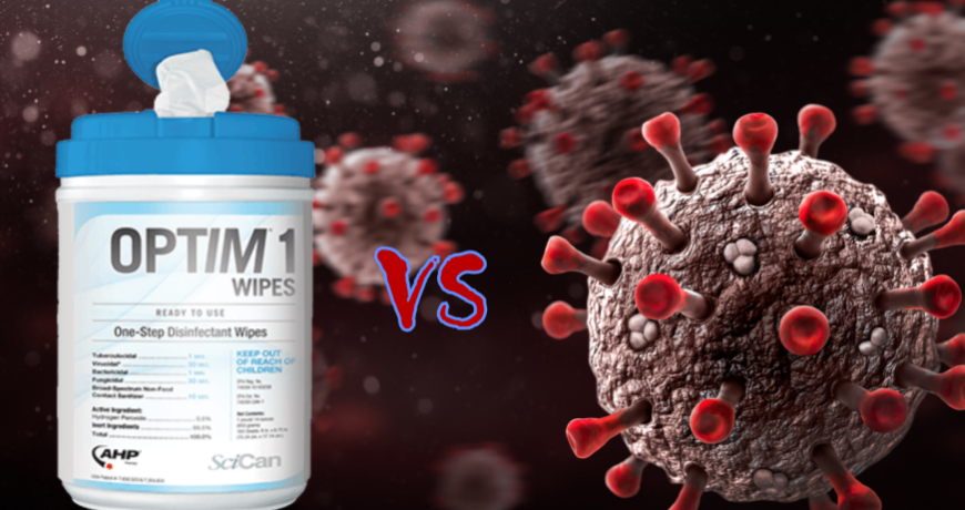 This is Optim1 facing off against the COVID19 virus.
