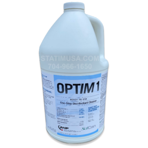 This is a single gallon bottle of Optim1 Disinfectant Cleaner